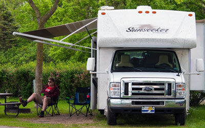 O'Donnell Insurance Services | RV Insurance | Relaxing with the RV